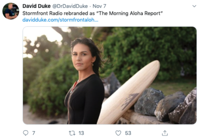White Nationalists Try To Claim Aloha Spirit As Their Own