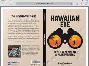 Denby Fawcett: 50 Years As A Honolulu Sleuth