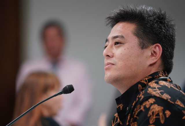 State of Hawaii Chief Elections Officer Scott Nago at hearing on Mail in Ballot3.
