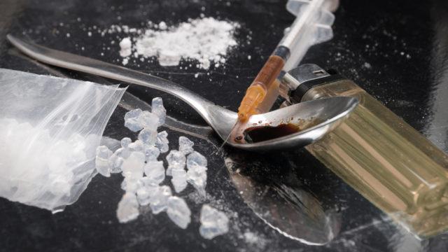 Methamphetamine prepared to be consumed