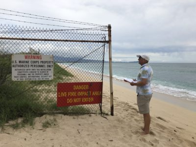 Ewa Beach Residents Want Marines To Take Another Look At Retaining Wall