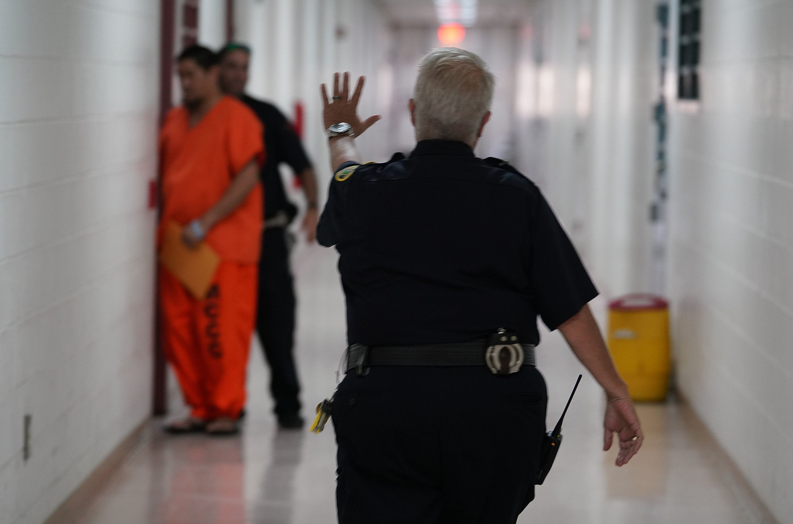 <p>At MCCC, the orange suit means that the inmate is a pretrial detainee. The 91 inmates in Module B were all pretrial detainees. The repairs cost the state $5.1 million. The state is still investigating the incident.</p>