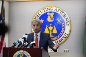Acting Honolulu Prosecutor Hit With Federal Subpoena