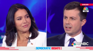 Presidential Debate Puts Gabbard At Odds With Harris, Buttigieg