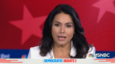 Gabbard Eliminated From Next Democratic Debate