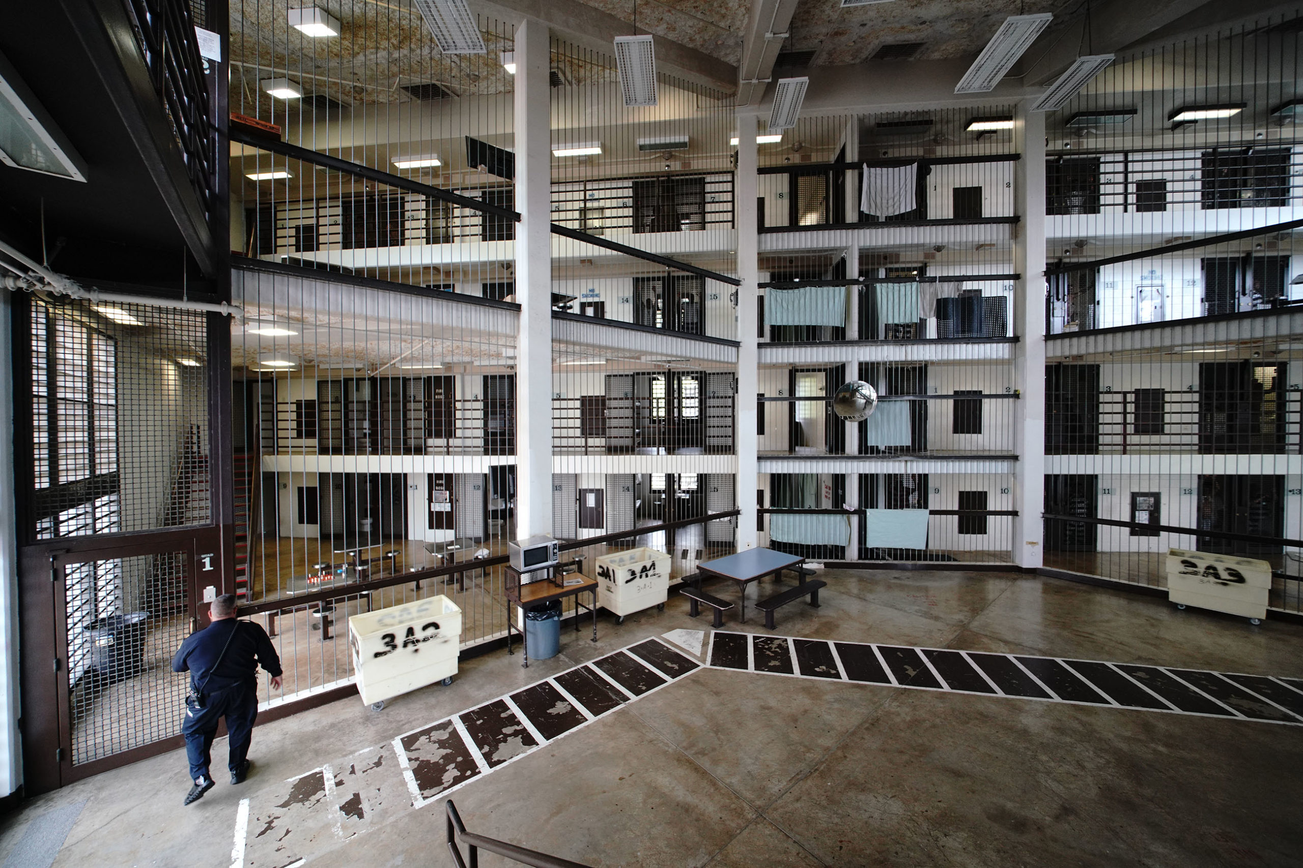 <p>Inmates at Halawa are allowed out of their cells once a shift, unless otherwise restricted, Mock says. There are three shifts in a day. Corrections officers conduct six different standing head counts a day, as well as a walk-through in the middle of the night.</p>