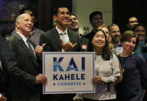 Hawaii Sen. Kai Kahele Finds Money, Connections In DC