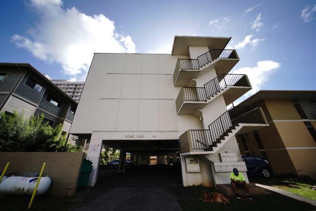 1717 Keeaumoku Street apartment security deposit.