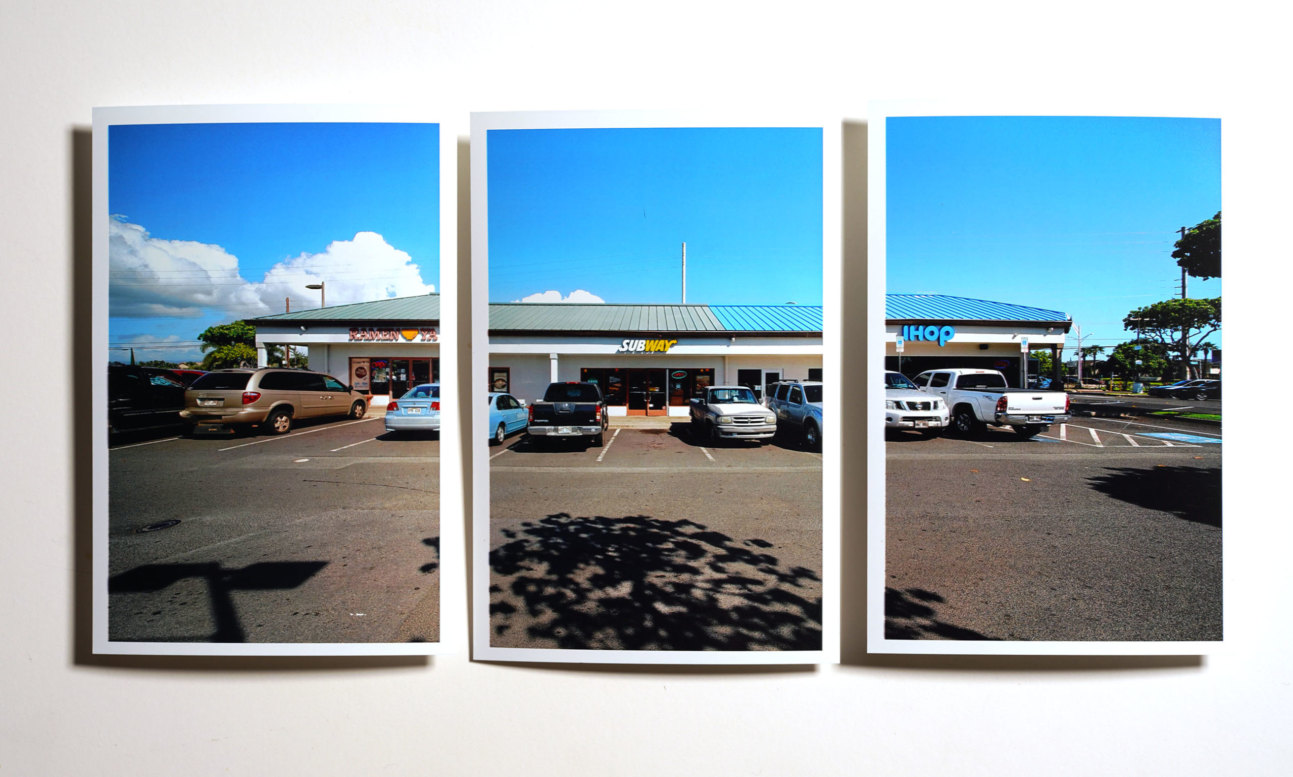 Sefo Fatai Ewa Beach Subway parking lot.