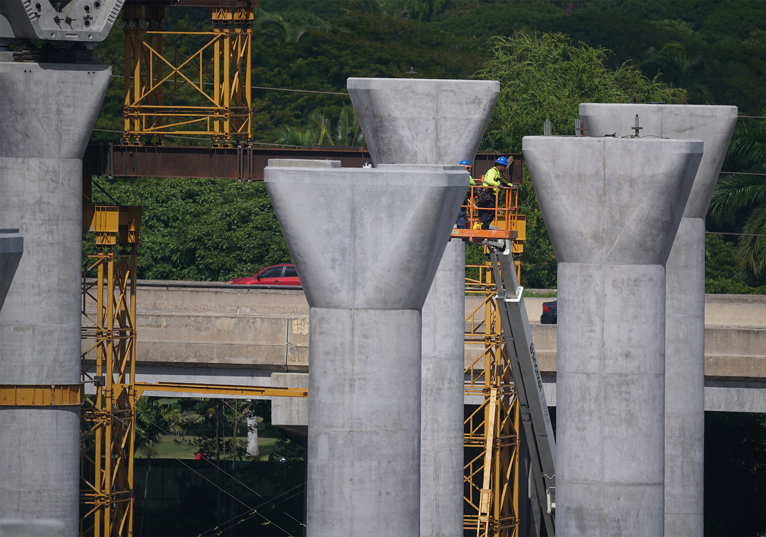 <p><strong>Rail Overruns:</strong> Work for the now $8.2 billion rail project has slowly moved from Kapolei to Daniel K. Inouye Airport. The 20-mile project has only grown more expensive.</p>