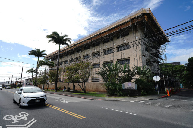 St. Francis Healthcare System of Hawaii located on Liliha Street.