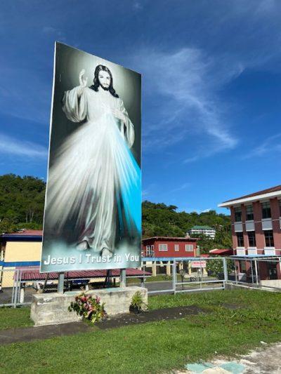 Samoa measles hospital