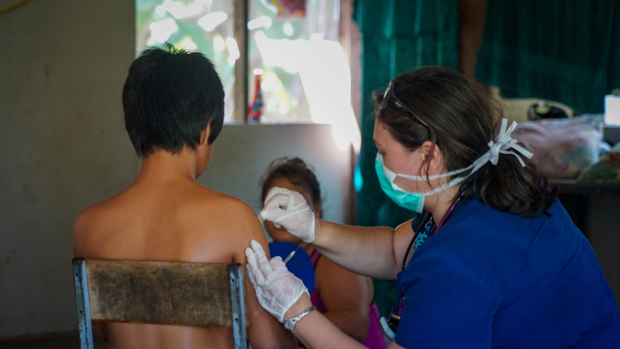 Samoa Measles Crisis Vaccinations Medical Mission