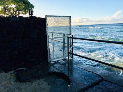 Denby Fawcett: Fence Blocking Diamond Head Seawall Will Be Removed