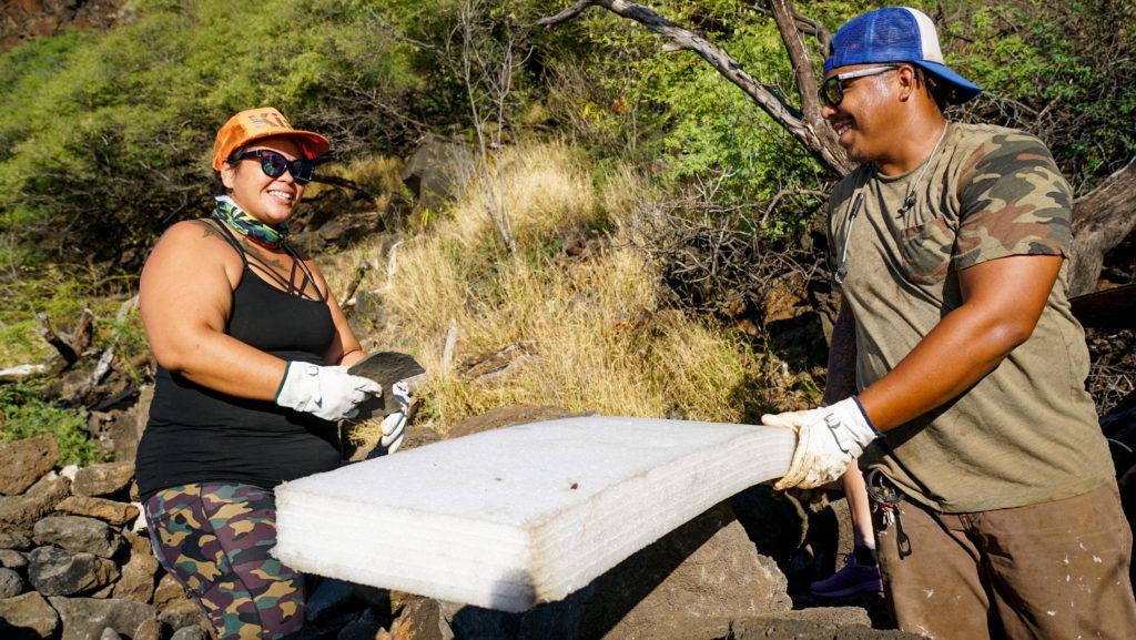 Makaha Mauna Lahilahi Botanical Garden Cleanup Fault Lines
