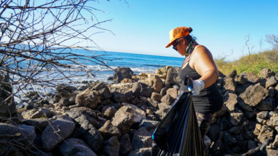 Makaha Mauna Lahilahi Botanical Garden Cleanup Kuʻuleilani Samson Fault Lines