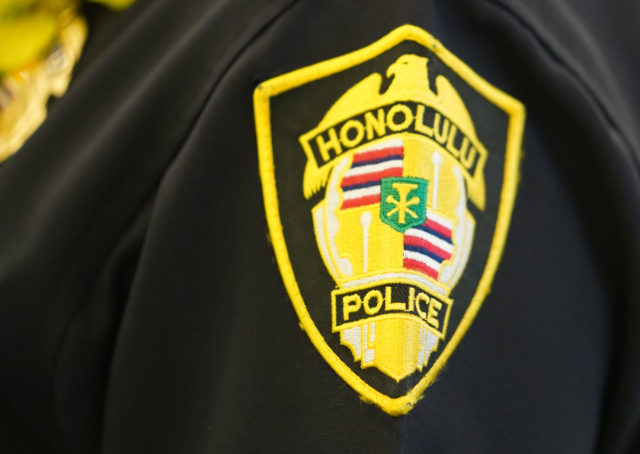Honolulu Police Department patch.