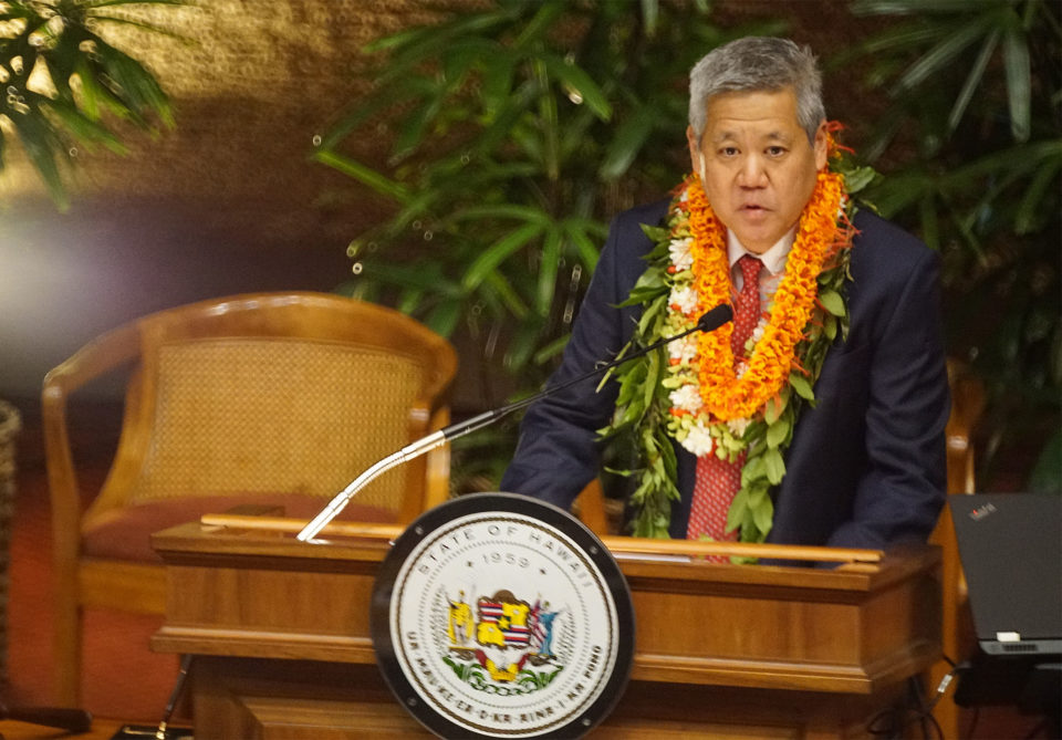 Hawaii Legislature: House Speaker Saiki Defeats Iwamoto