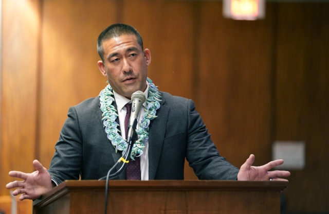 Kauai Mayor Derek Kawakami during joint WAM FInance Meeting 2020.