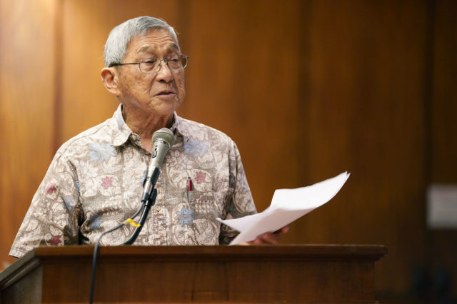 Hawaii Mayor speaks during joint WAM FInance Meeting 2020.
