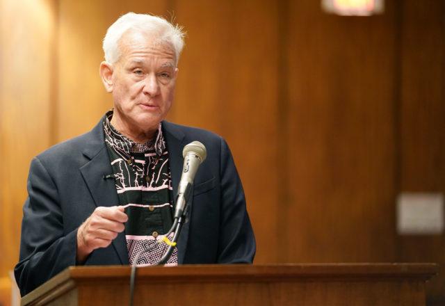 Honolulu Mayor Kirk Caldwell speaks during joint WAM FInance Meeting 2020.