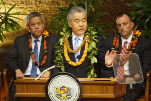 Sunday Shooting Overshadows Hawaii Governor's State Of The State