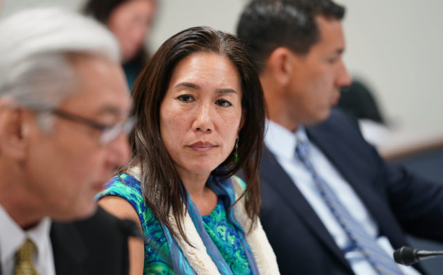 Hawaiian Affairs Committee Chair Maile Shimabukuro.
