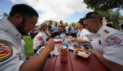 Denby Fawcett: Diamond Head Girls School Offers Comfort To First Responders, Neighbors