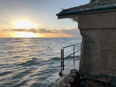 Denby Fawcett: City Removes 2nd Fence From Diamond Head Seawall
