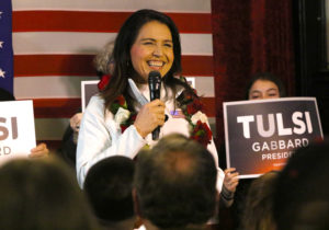 Gabbard Staying In The Race Despite Finishing Far Behind In New Hampshire