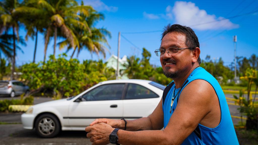 Kalapana Big Island Star Of The Sea Painted Church Poncho Aldana