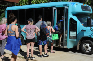 Kauai: Hawaiians Use Shuttle To Drop Knowledge On Tourists