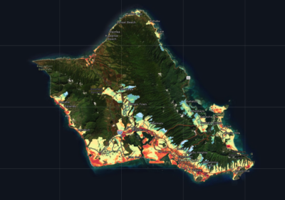 Honolulu Has Mapped Just How Hot Oahu Is Now