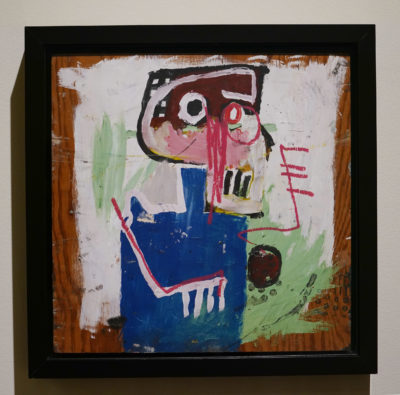 Jean-Michel Basquiat untitled self portrait.