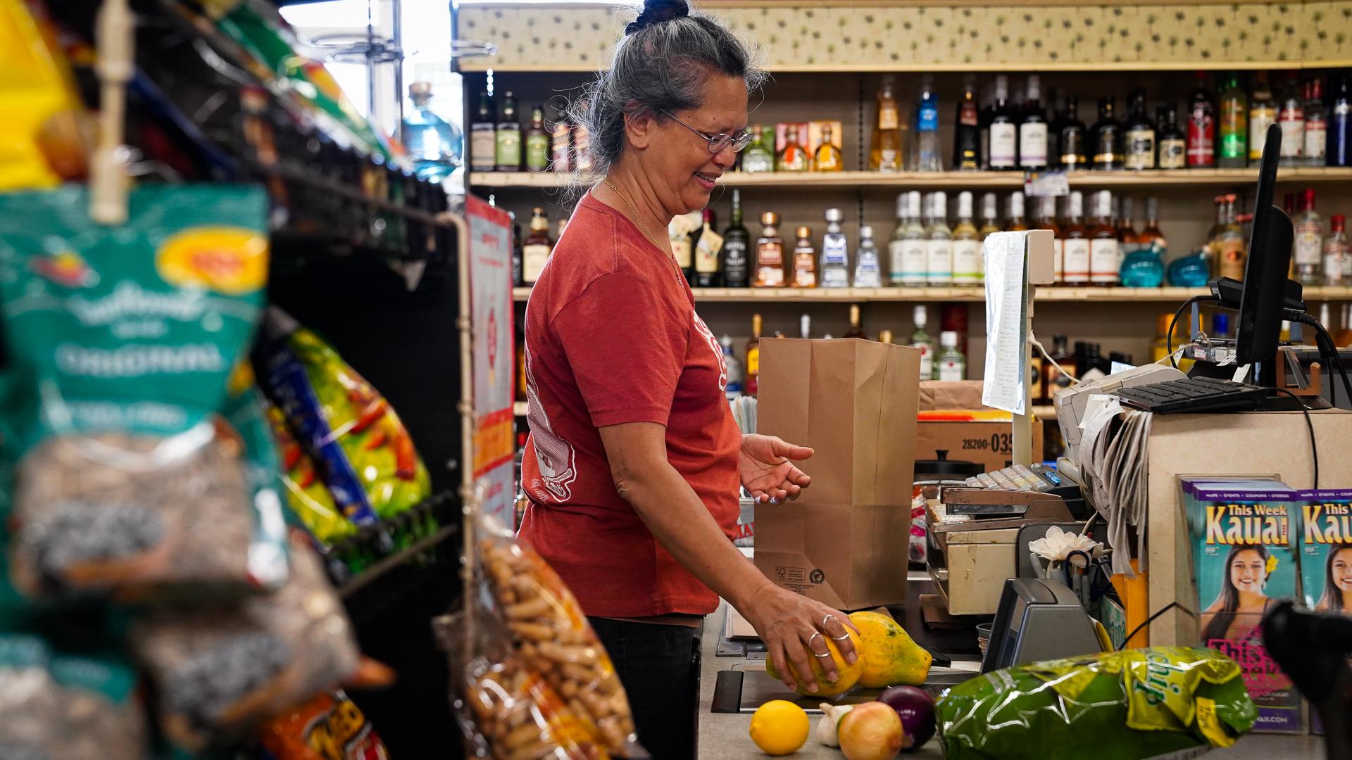Kauai Kukuiula Mom and Pop Market Cashier Mokihana Ruiz