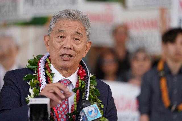 Acting Prosecutor Dwight Nadamoto announces his run for prosecutor..