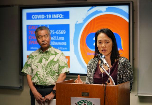 Dept of Health Epidemiologist Sarah Park discusses Coronavirus / COVID19 community surveillance program.