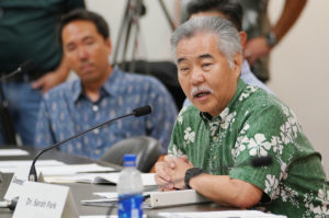No Statewide Text Alerts, Ige Says