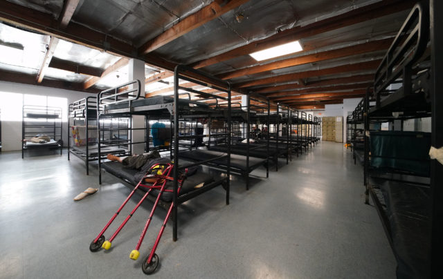 Institure for Human Services, Sumner Street location with bunks located on the 2nd floor.