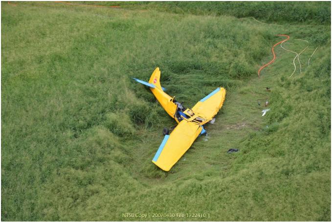tow plane glider crash Dillingham