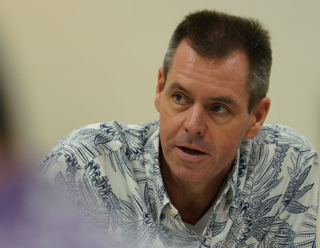 Hawaiian Airlines CEO President Peter Ingram COVID Coronavirus House commitee hearing. March 2020.