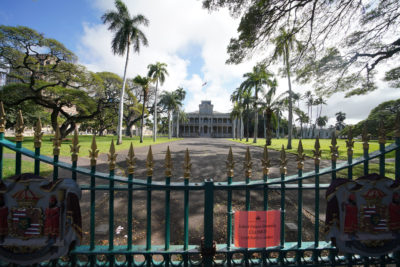 Denby Fawcett: Hawaii's Royal Palace Is In Danger