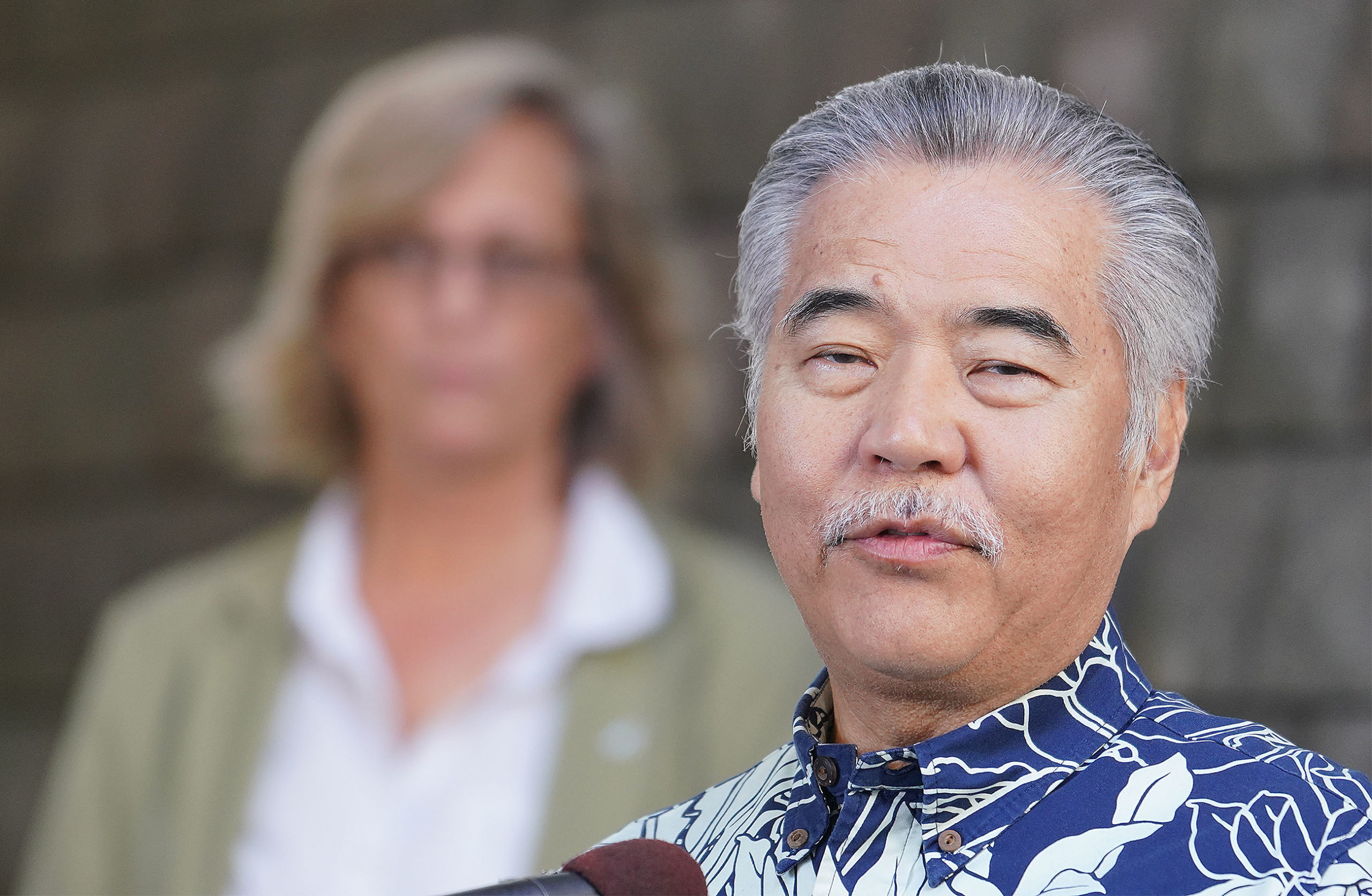 Governor David Ige announces a 14 day quarantine for all visitors to Hawaii due to Coronavirus outbreak.