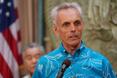 Hilton Raethel, President and CEO of Healthcare Association of Hawaii.
