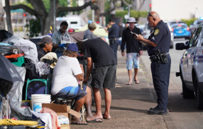 No Rest For The Homeless: Bill Would Ban Sitting Almost Anywhere On Oahu