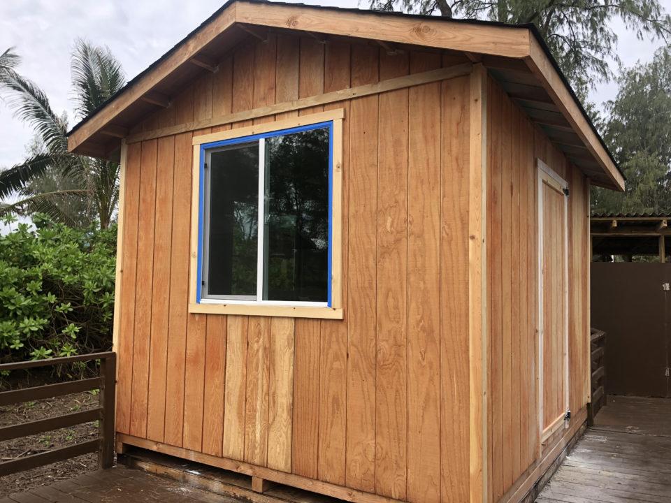 Kauai: These Small Sheds May Soon Shelter Quarantined Family Members
