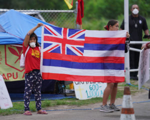 Construction Resumes At Waimanalo Park Despite Pandemic And Protest