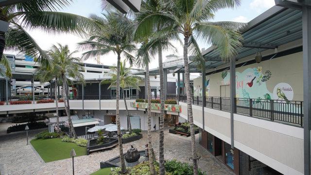 Ala Moana Shopping Center.