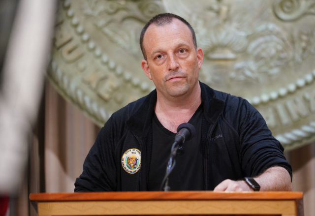 Lt Governor Josh Green speaks during Coronavirus COVID19 press conference. April 8, 2020