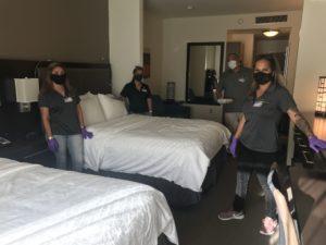 Homeless Seniors On Hawaii Island Shelter At Holiday Inn Express